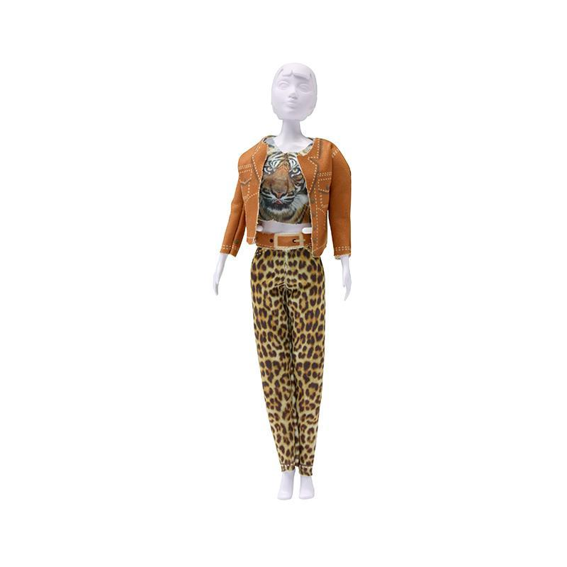 Set de croitorie hainute pentru papusi Couture Kitty Tiger, Dress Your Doll