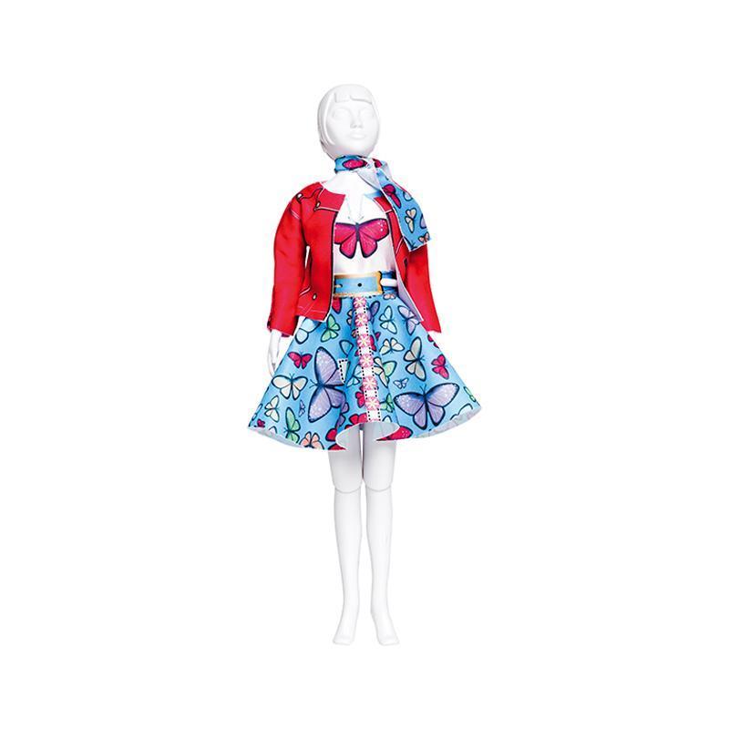 Set de croitorie hainute pentru papusi Couture Lucy Butterfly, Dress Your Doll
