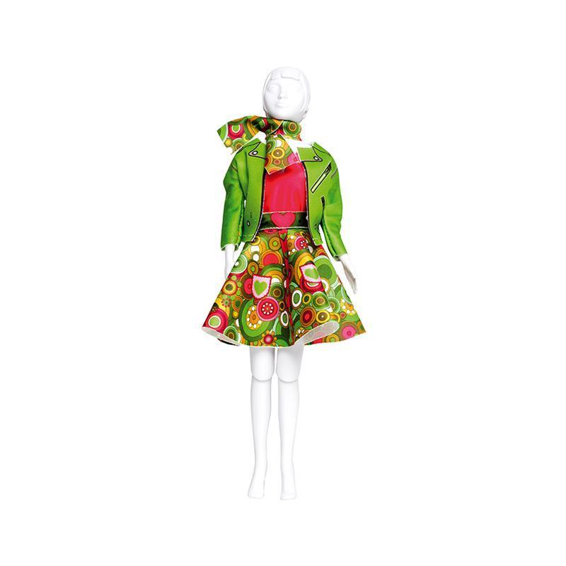 Set de croitorie hainute pentru papusi Couture Lucy Funky, Dress Your Doll