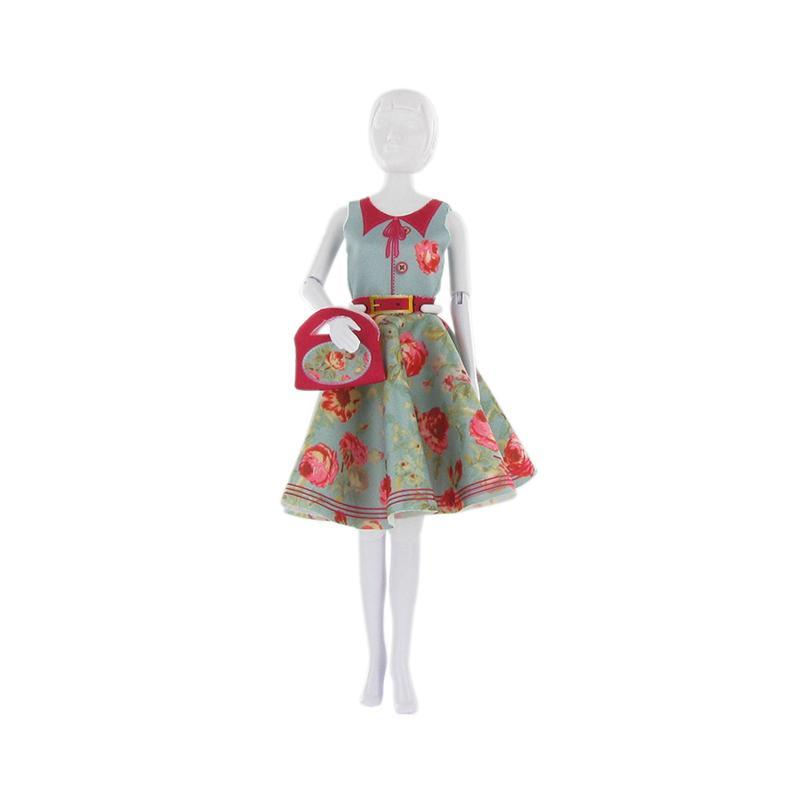 Set de croitorie hainute pentru papusi Couture Peggy Peony, Dress Your Doll