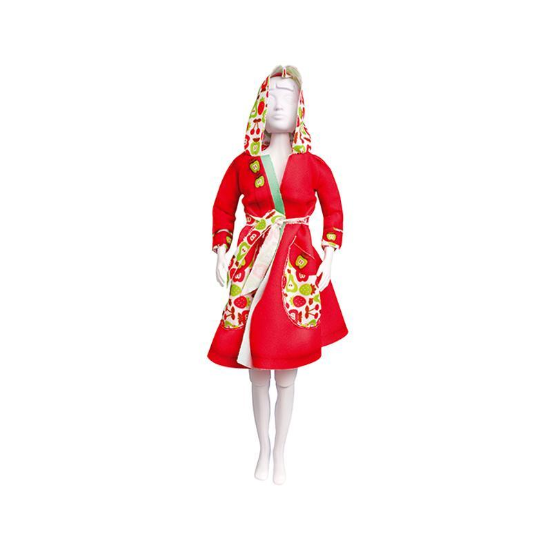 Set de croitorie hainute pentru papusi Couture Fanny Apples, Dress Your Doll