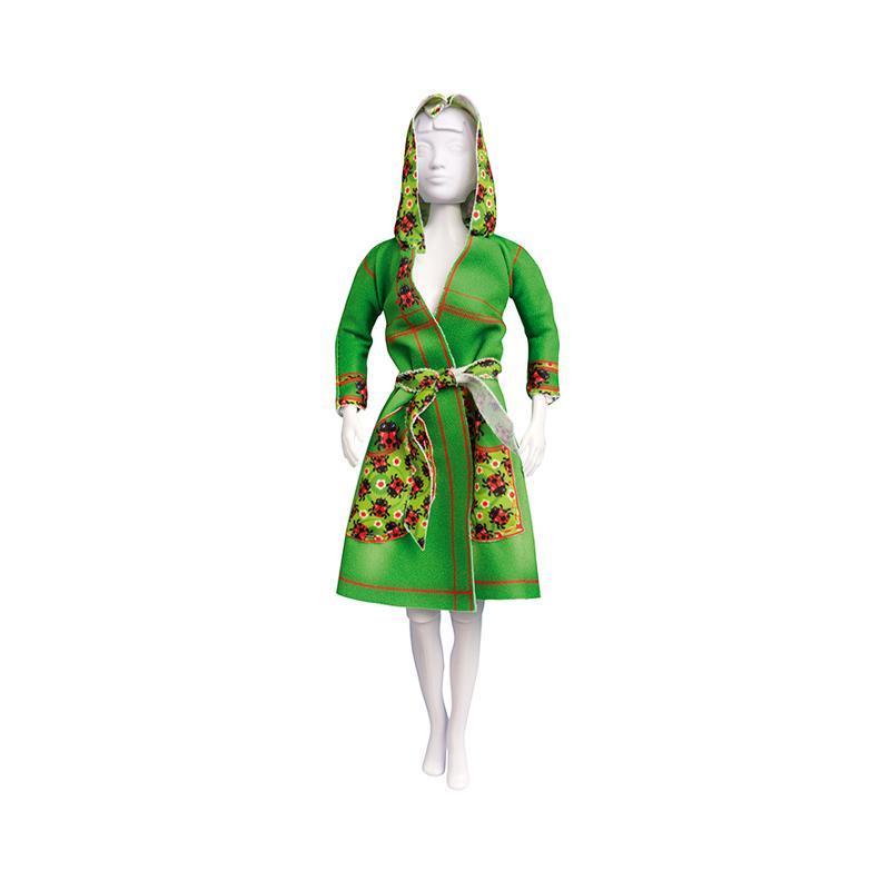 Set de croitorie hainute pentru papusi Couture Fanny Ladybug, Dress Your Doll