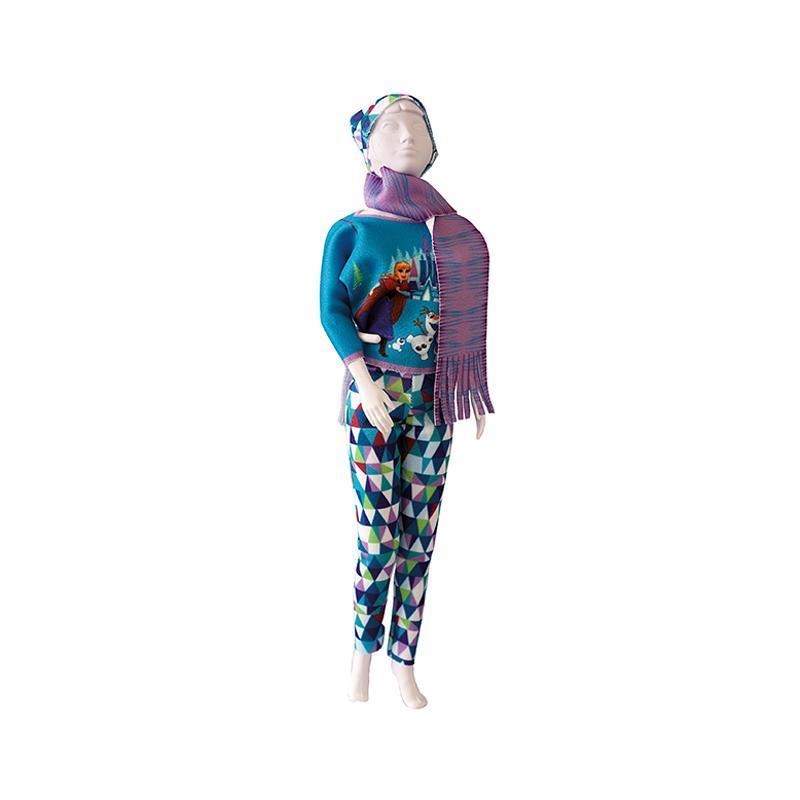 Set de croitorie hainute pentru papusi Couture Disney Kathy Magic, Dress Your Doll