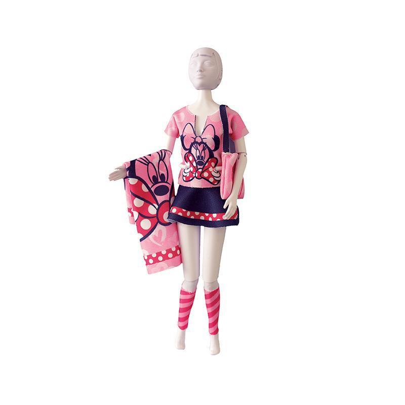 Set de croitorie hainute pentru papusi Couture Disney Tiny Minnie, Dress Your Doll