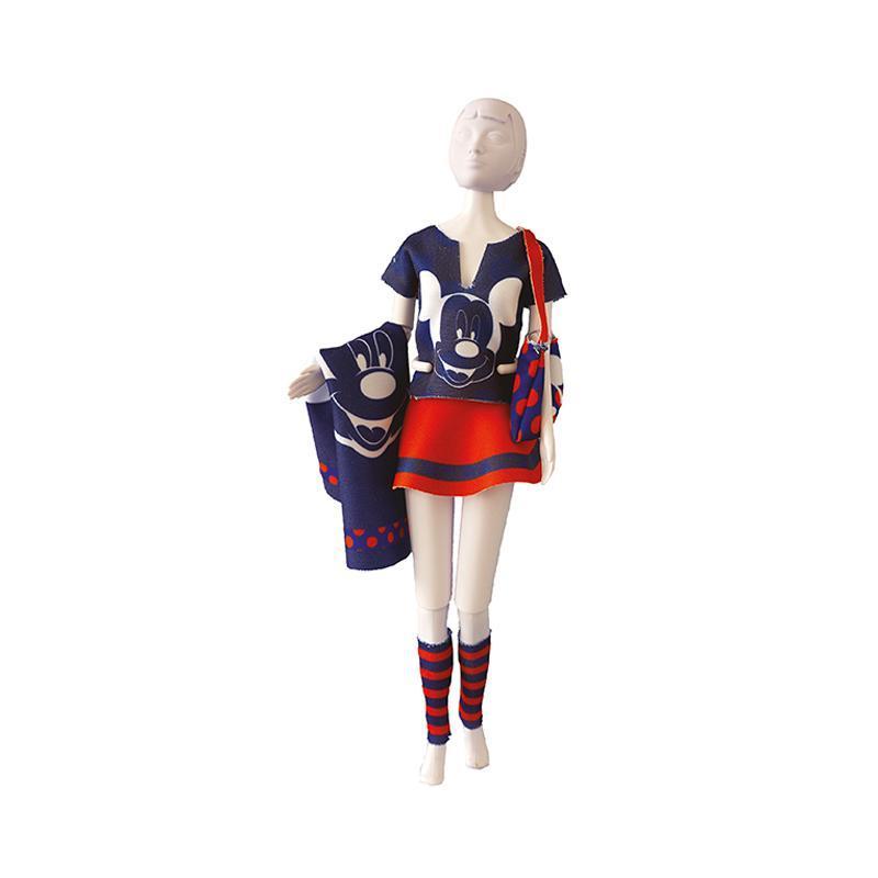 Set de croitorie hainute pentru papusi Couture Disney Tiny Mickey, Dress Your Doll