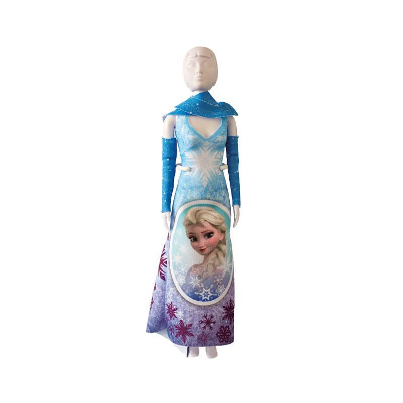 Set de croitorie hainute pentru papusi Couture Disney Mary Frozen Magic, Dress Your Doll