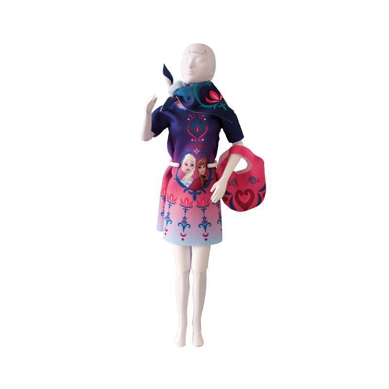 Set de croitorie hainute pentru papusi Couture Disney Twiggy Floral, Dress Your Doll