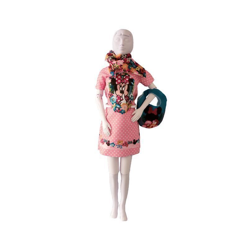 Set de croitorie hainute pentru papusi Couture Disney Twiggy Minnie, Dress Your Doll