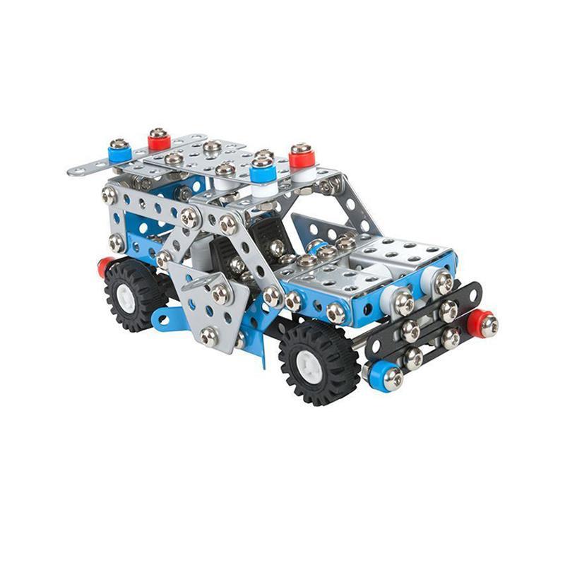 Set constructie 302 piese metalice Constructor Masina de politie, Alexander