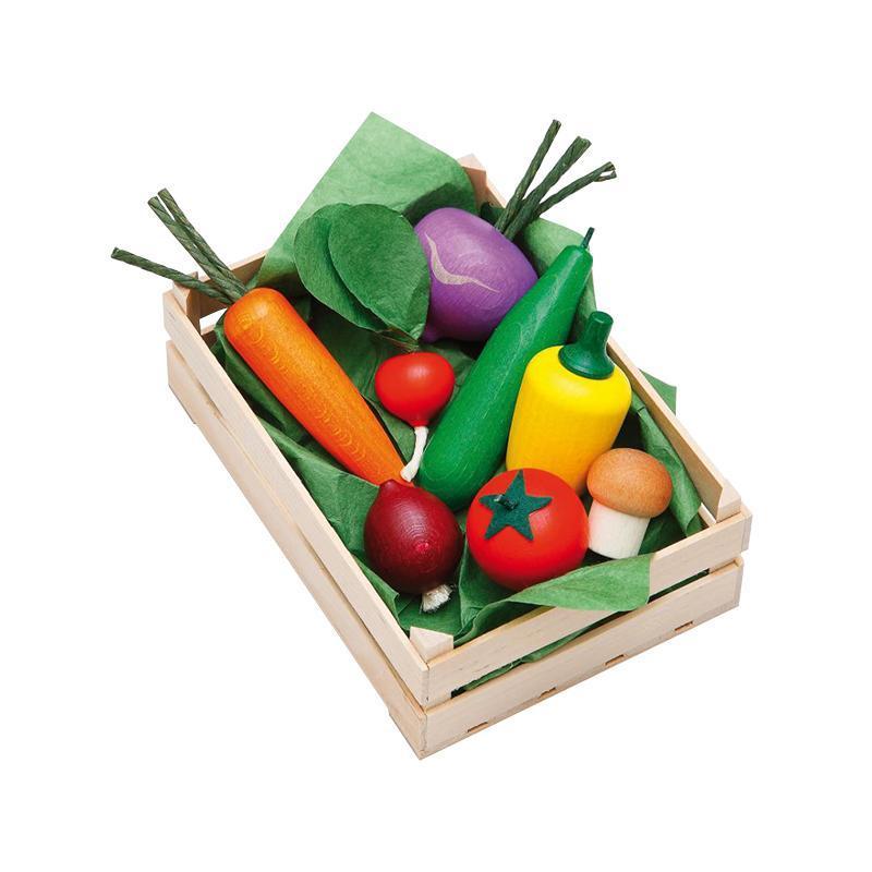 Ladita legume asortate din lemn, Erzi