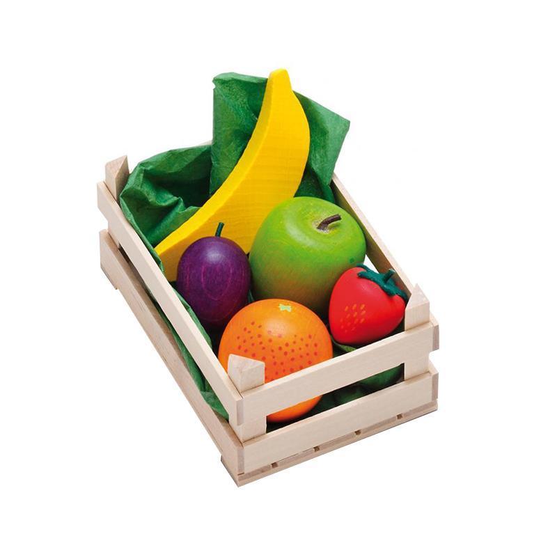 Ladita mica cu fructe asortate din lemn, Erzi