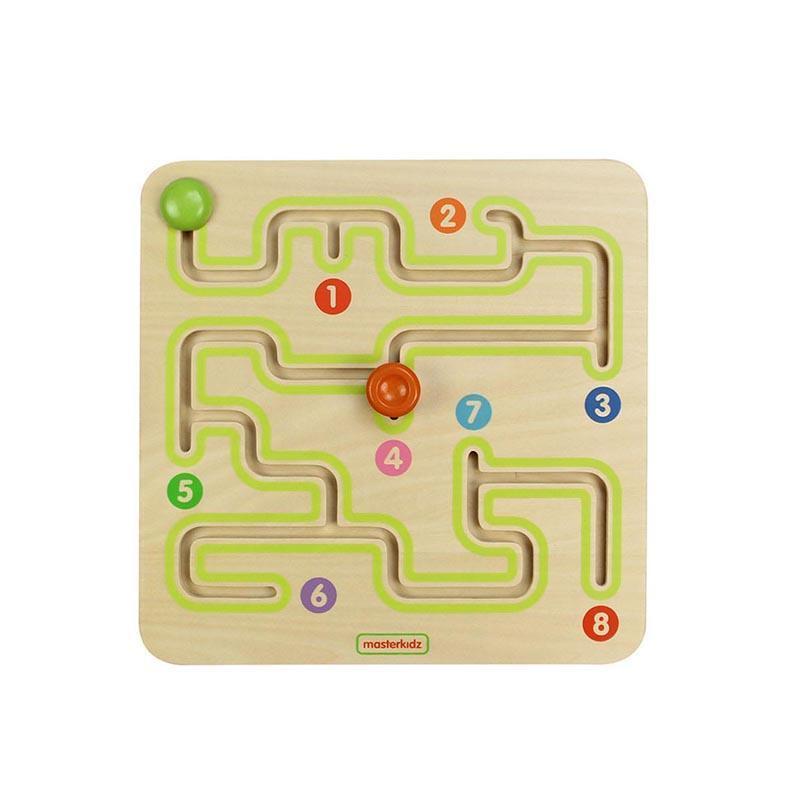 Labirint, din lemn, +18 luni, Masterkidz