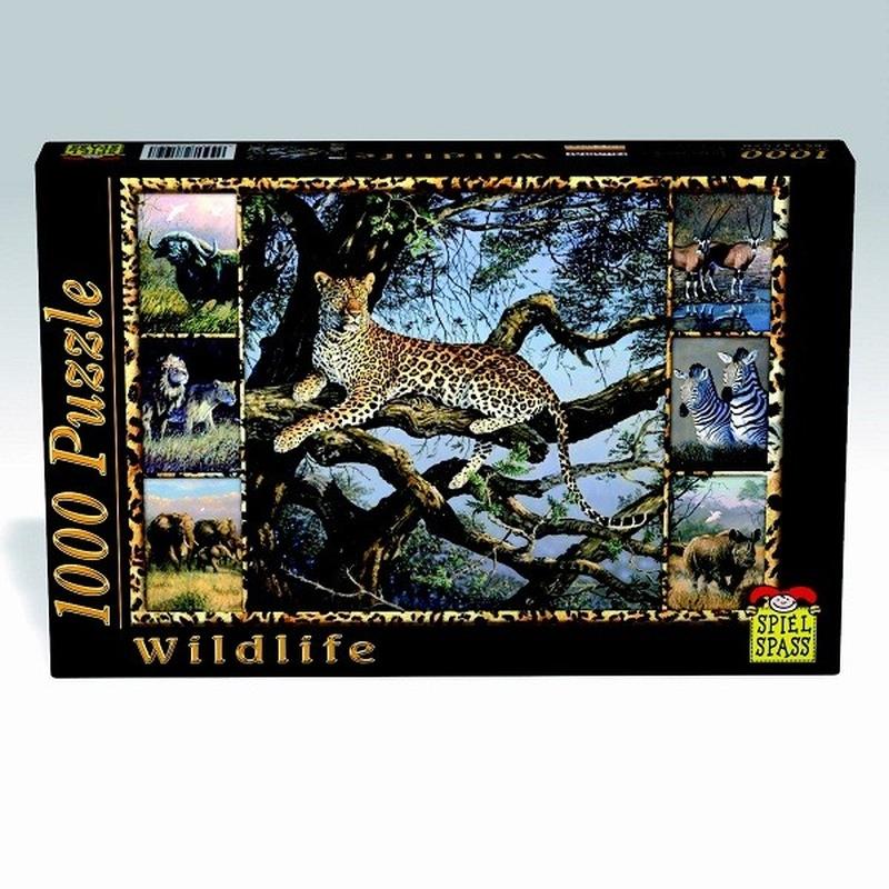 Puzzle Wildlife Leopard 1000 piese imagine