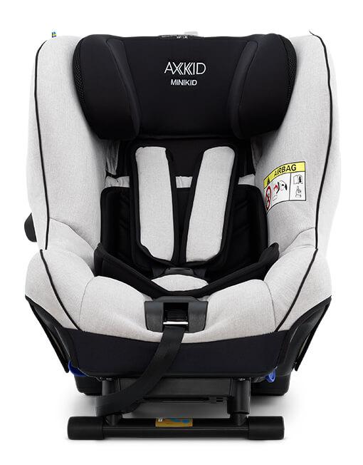 Scaun Auto Rear Facing Axkid Minikid 2.0 Premium - Sky Grey imagine