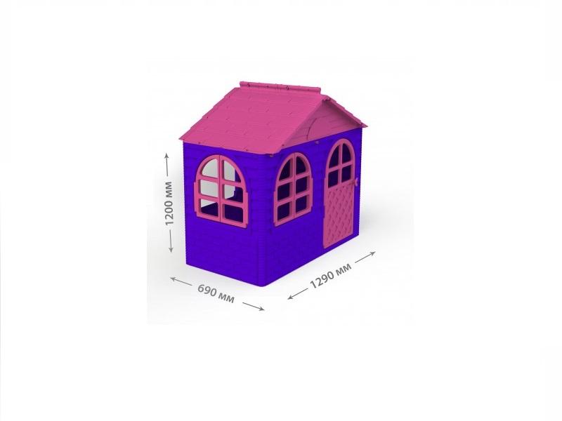 Casuta de joaca MyKids 02550/10 Pink/Violet - Small imagine