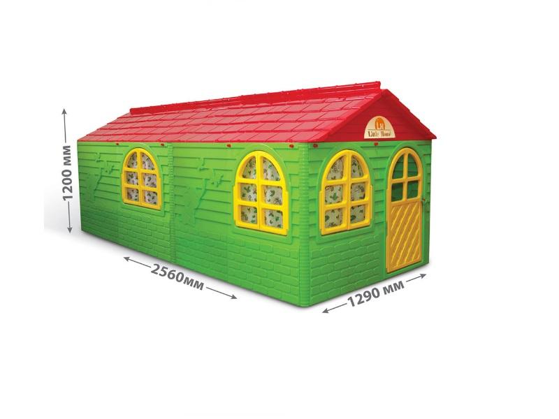 Casuta de joaca MyKids 02550/23 Green/Red - Big imagine