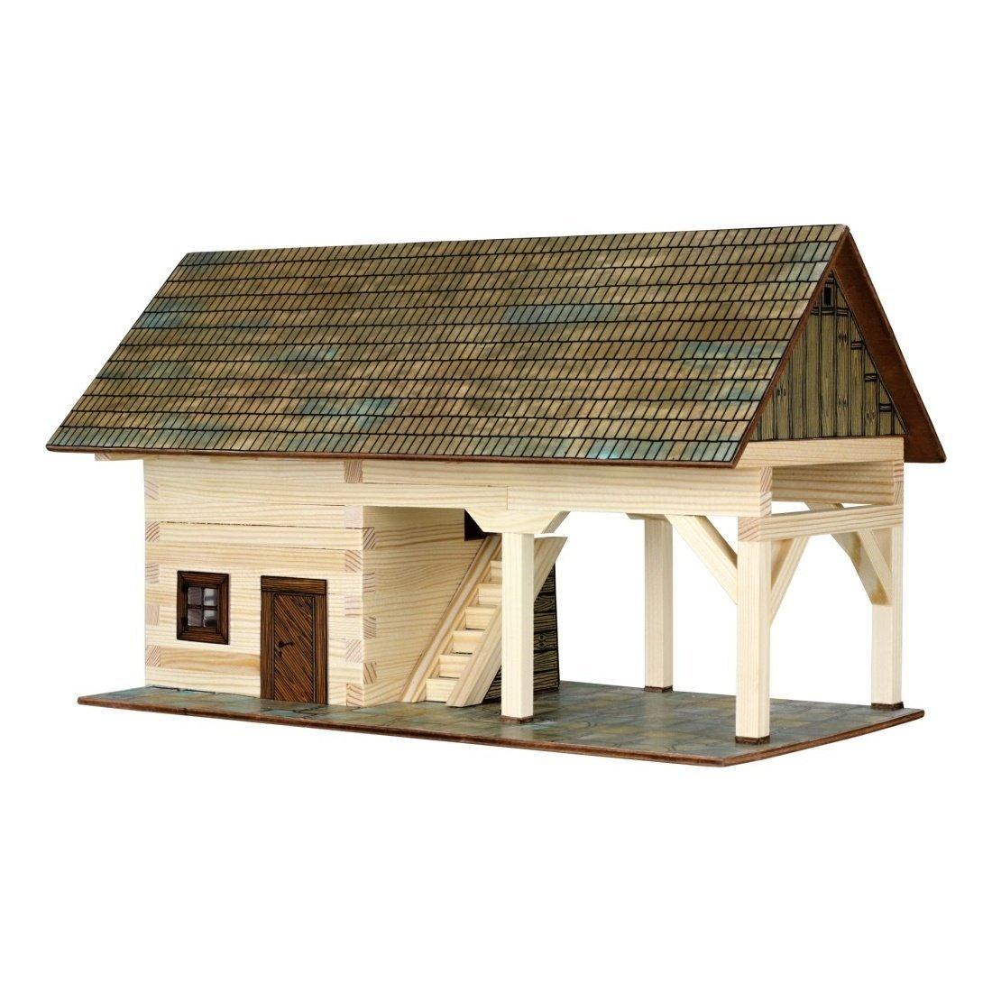 Set constructie arhitectura Sopron, 131 piese din lemn, Walachia