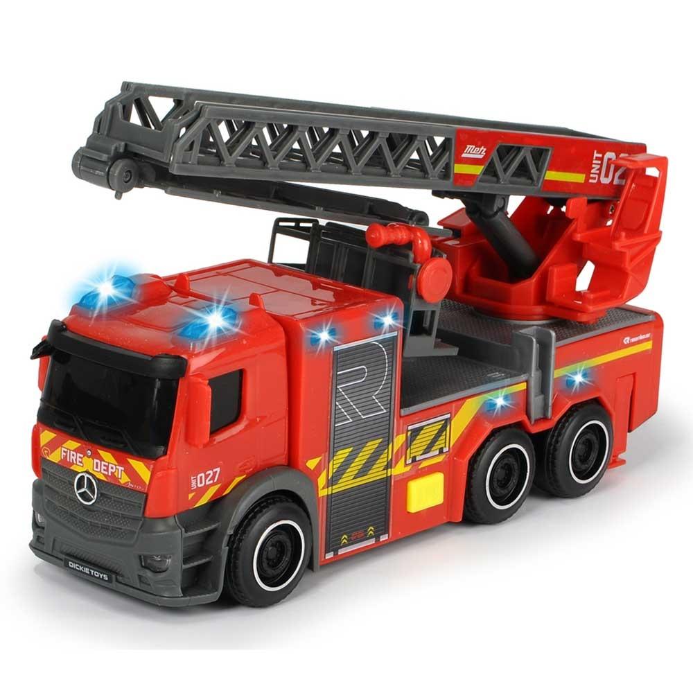 Masina de pompieri Dickie Toys Mercedes-Benz City Fire Ladder