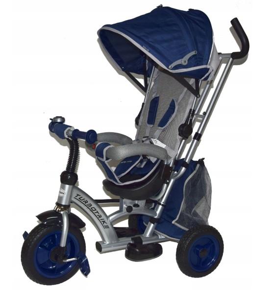 Tricicleta cu sezut reversibil Sunrise Turbo Trike Dark Blue imagine
