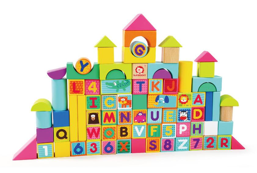 Cuburi pentru construit - Animalute jucause