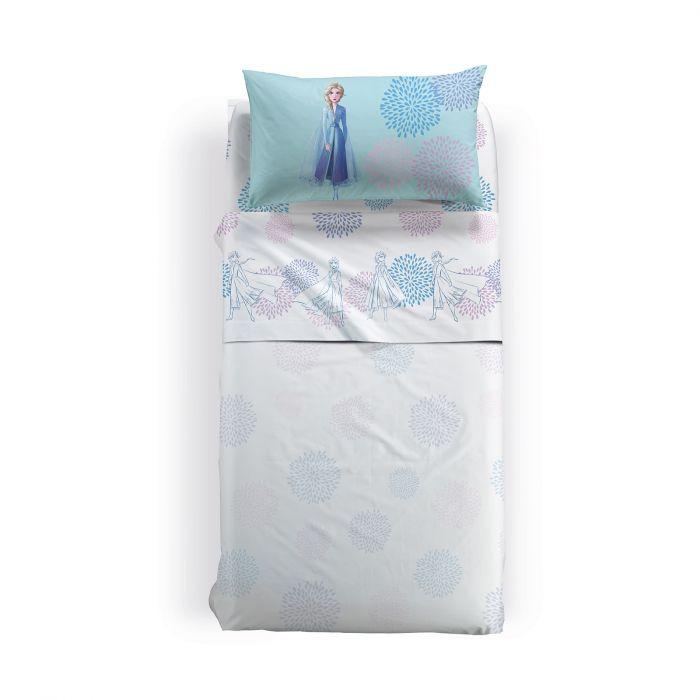 Lenjerie pat Elsa Blu 170x270 cm