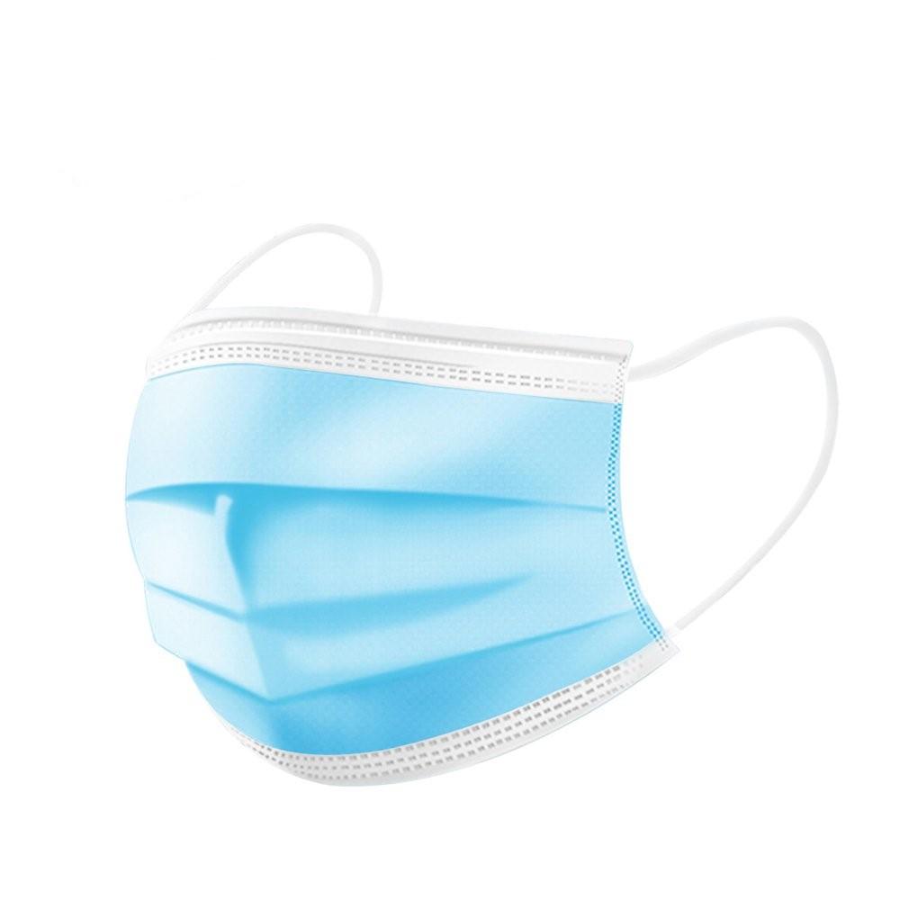 Masca chirurgicala medicala cu elastic 3 straturi 40 buc
