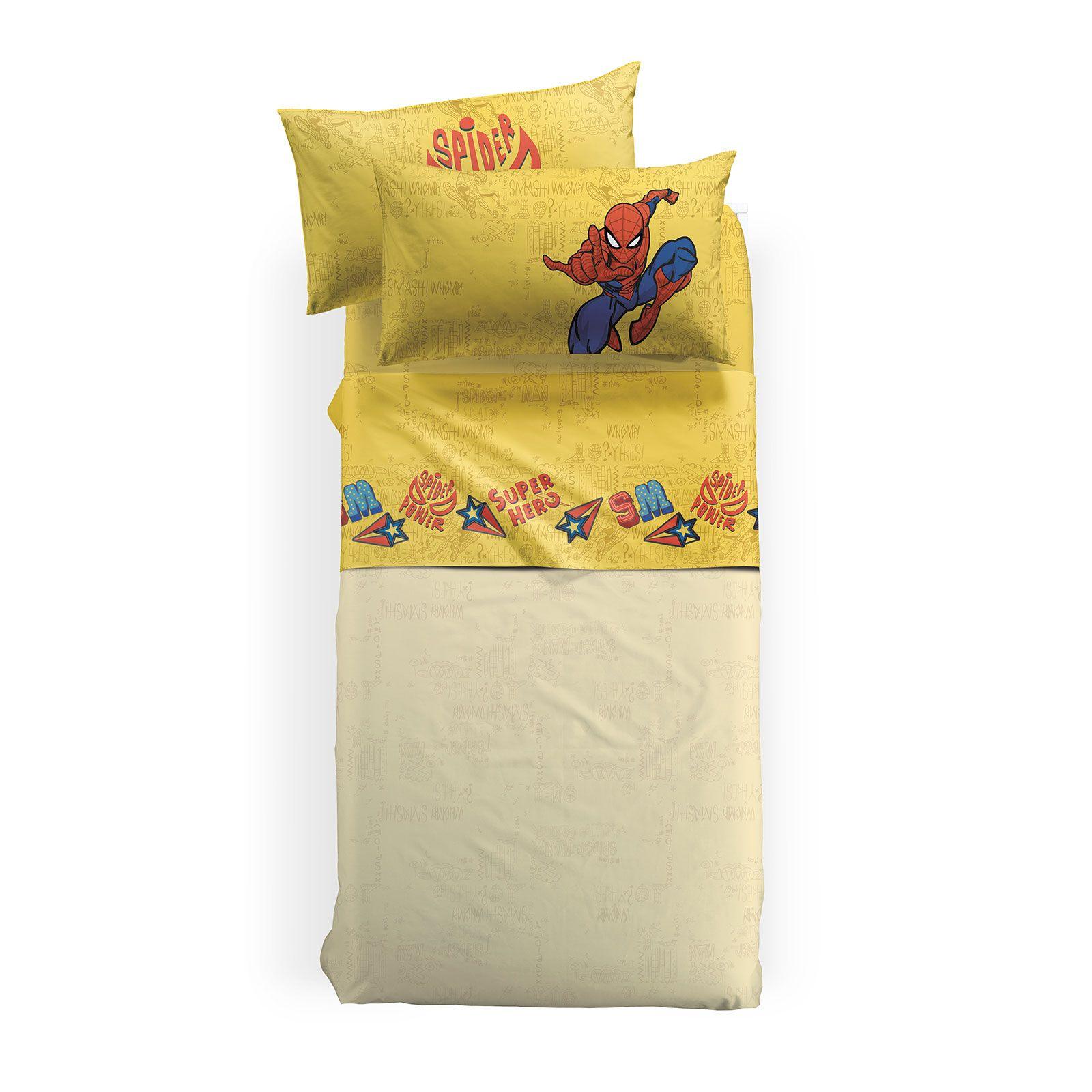 Lenjerie pat Spiderman Hero 160x280 cm