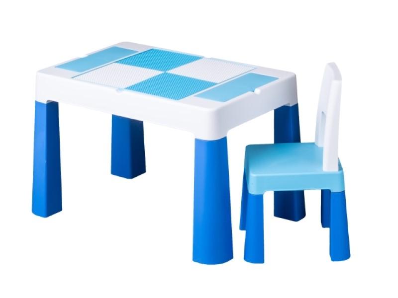 Set masuta cu scaun Tega Lego Multifun Albastru imagine