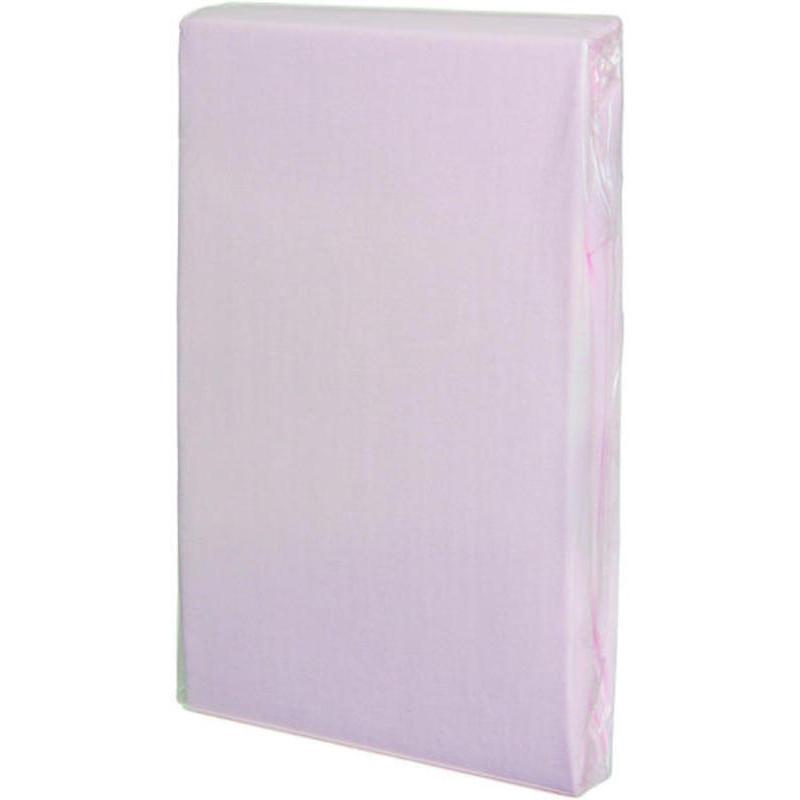 Cearceaf Tencel cu elastic roz Fillikid imagine