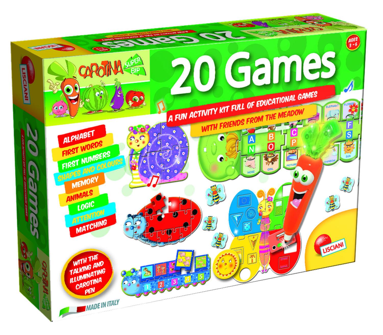 Set 20 jocuri cu pix interactiv