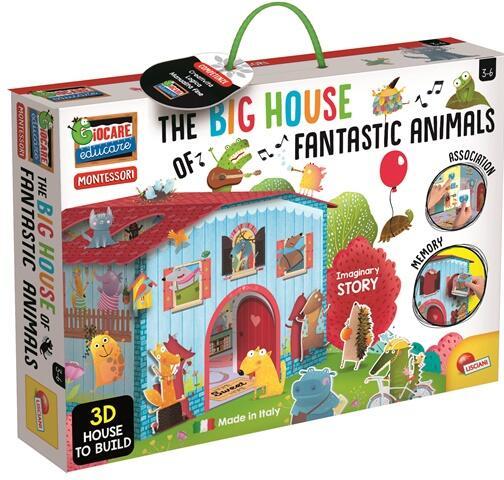 Joc Montessori - Casuta animalelor fantastice image0