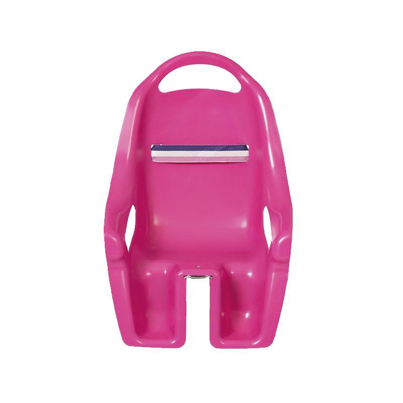 Scaun de bicicleta pentru papusi roz, MamaMemo