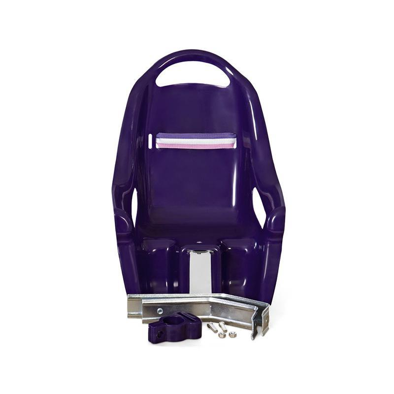 Scaun de bicicleta pentru papusi violet, MamaMemo