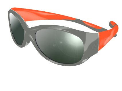 Ochelari Protectie Solara Reverso Vista 4-8 Ani, Grey Orange