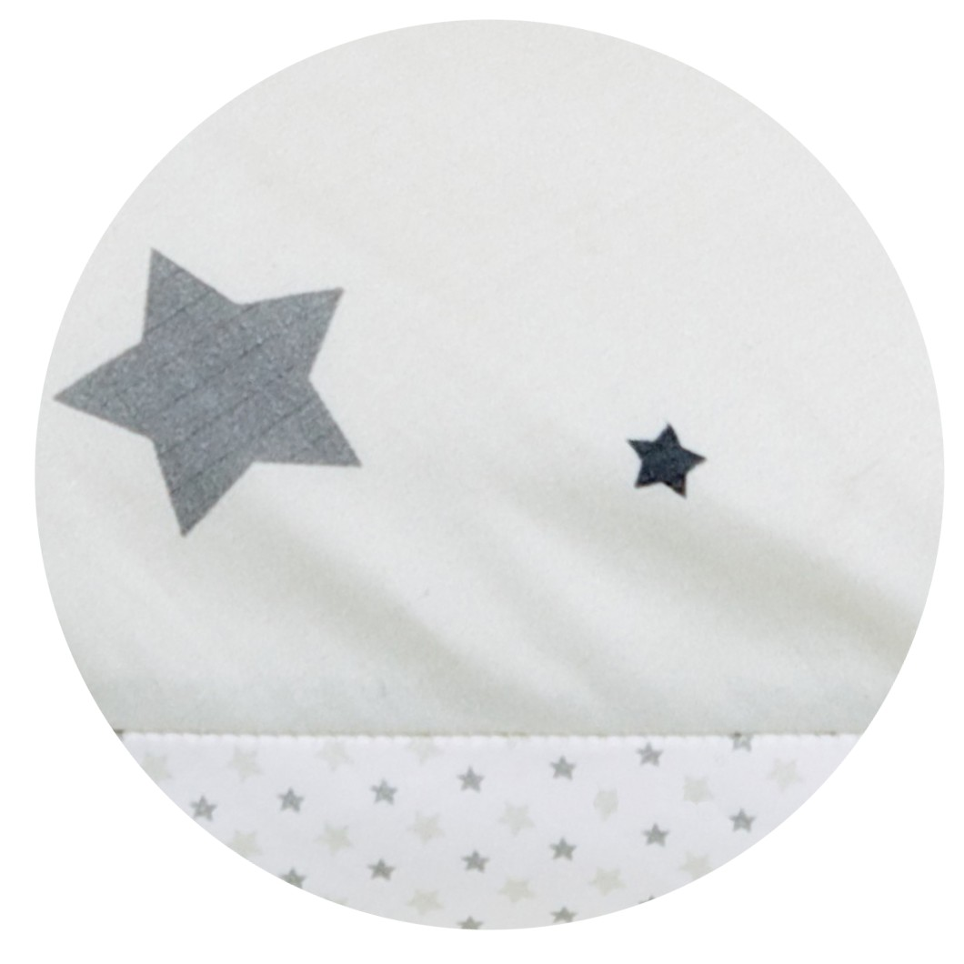 Perna Pentru Gravide Si Alaptare Grey Stars