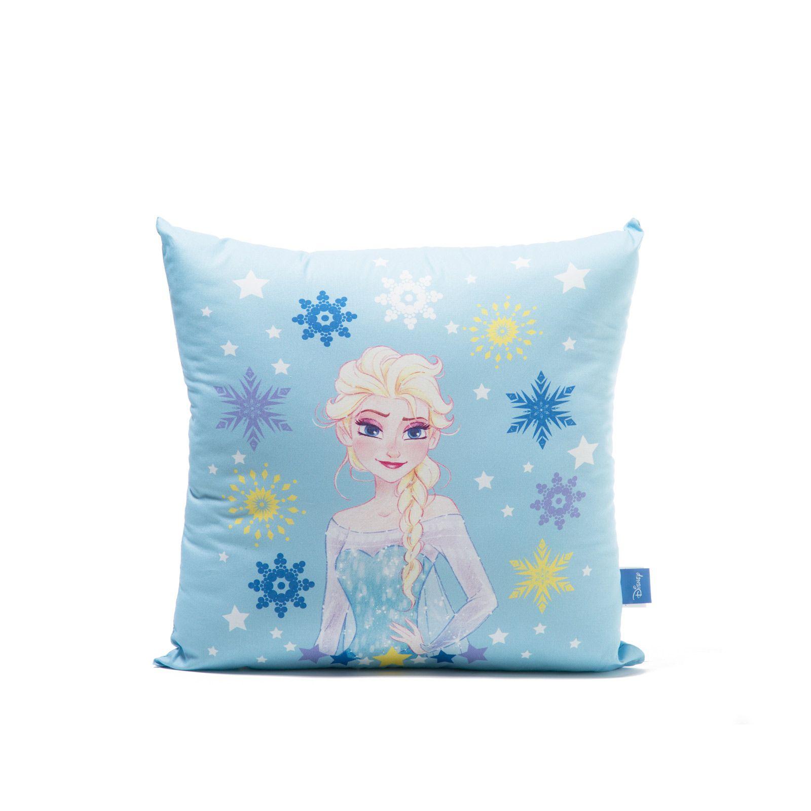 Perna decorativa Frozen Magia, 42x42 cm, bleu imagine
