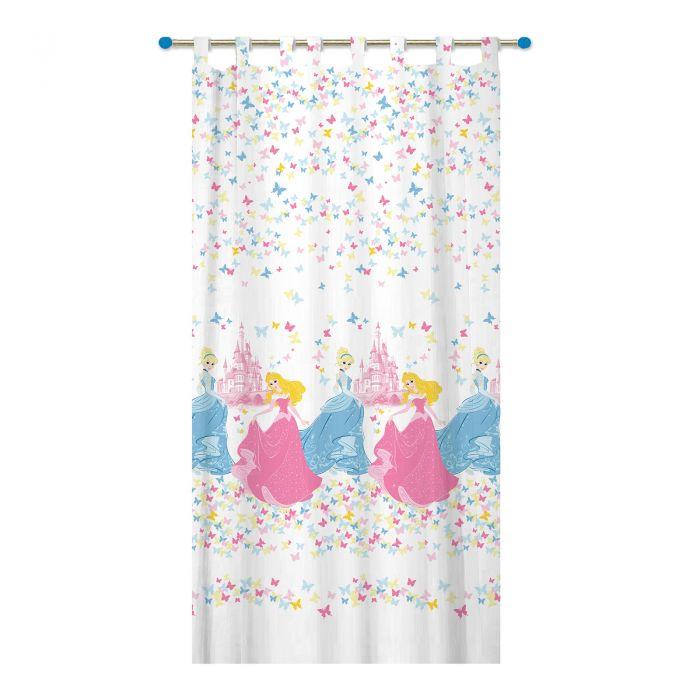 Perdea Disney Princess, 150x300 cm, roz imagine