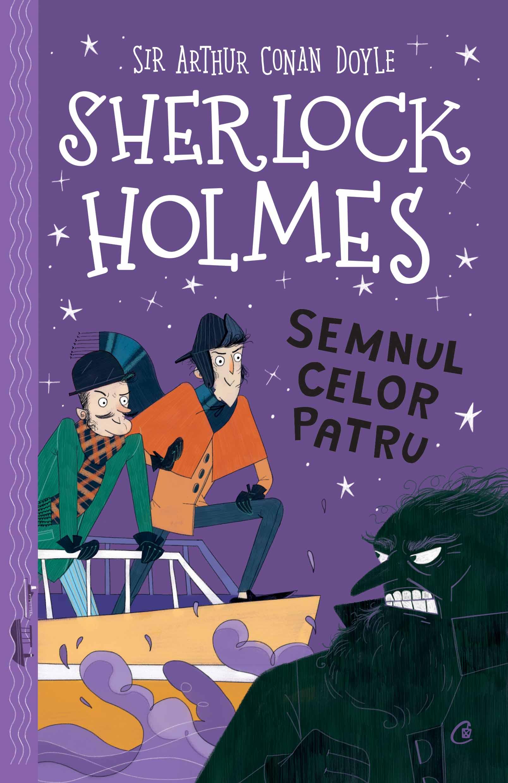 Sherlock holmes. semnul celor patru imagine