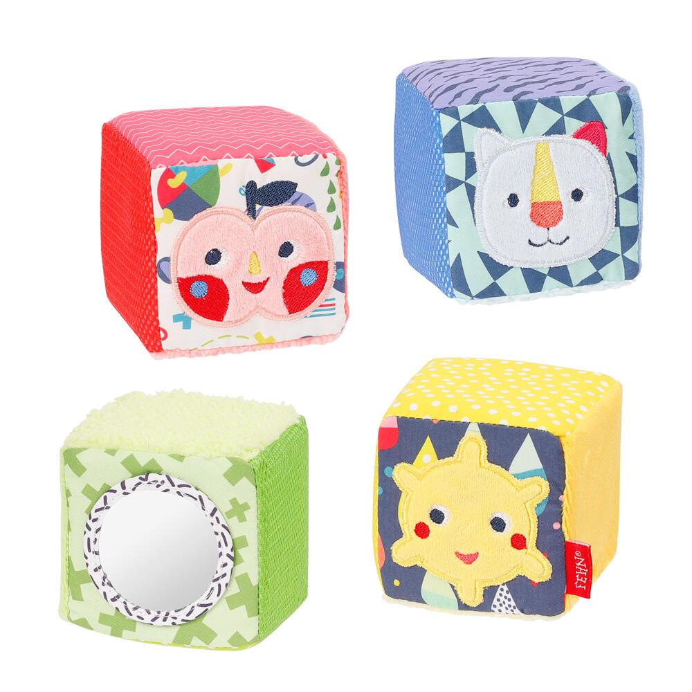 Set 4 cuburi - Prietenii culorilor