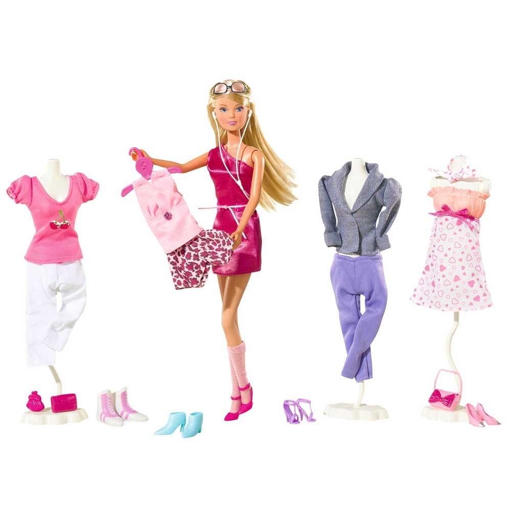 Papusa Simba Steffi Love 29 cm Mega Fashion cu 45 accesorii