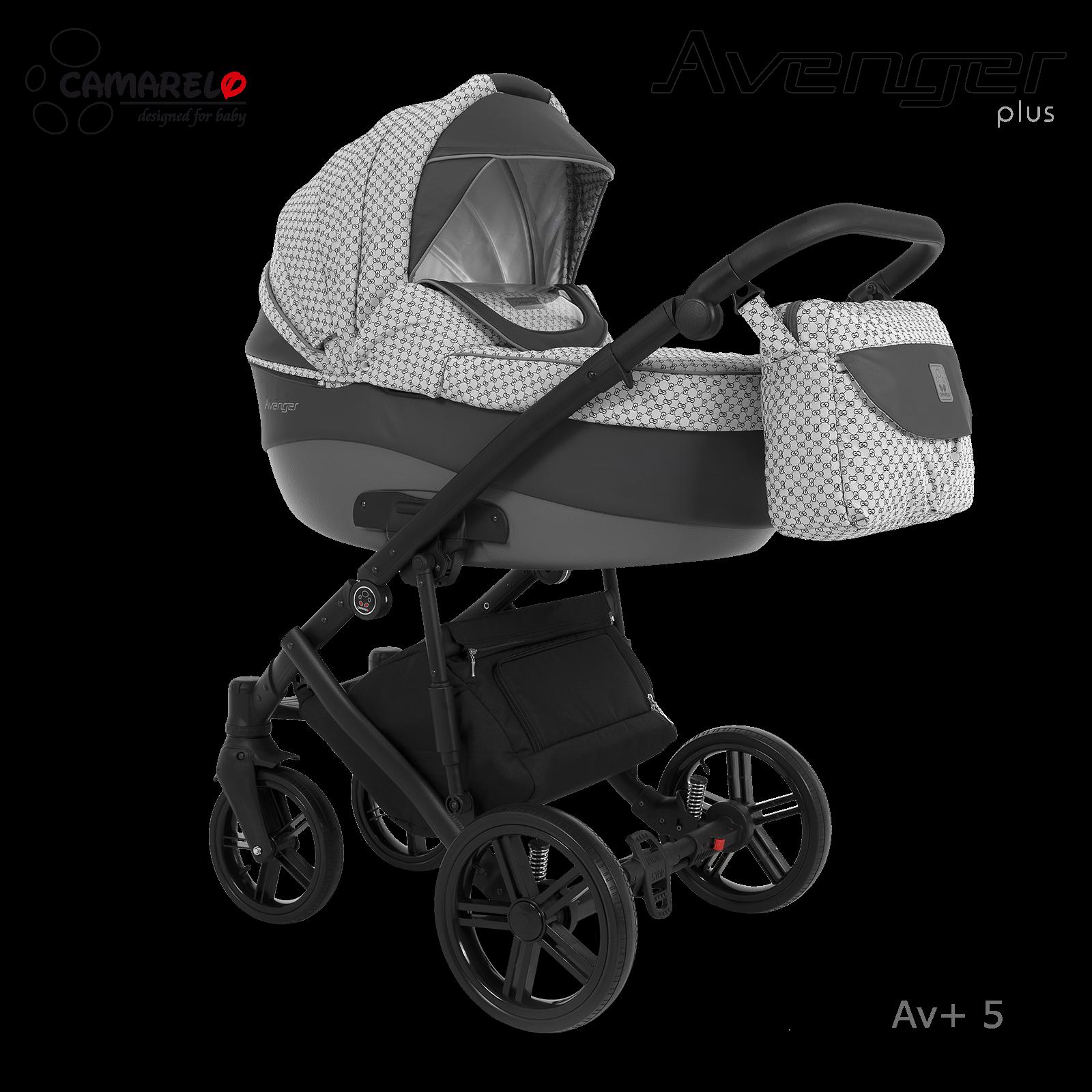 Carucior copii 3 in 1 Avenger Plus AV+5 Camarelo imagine