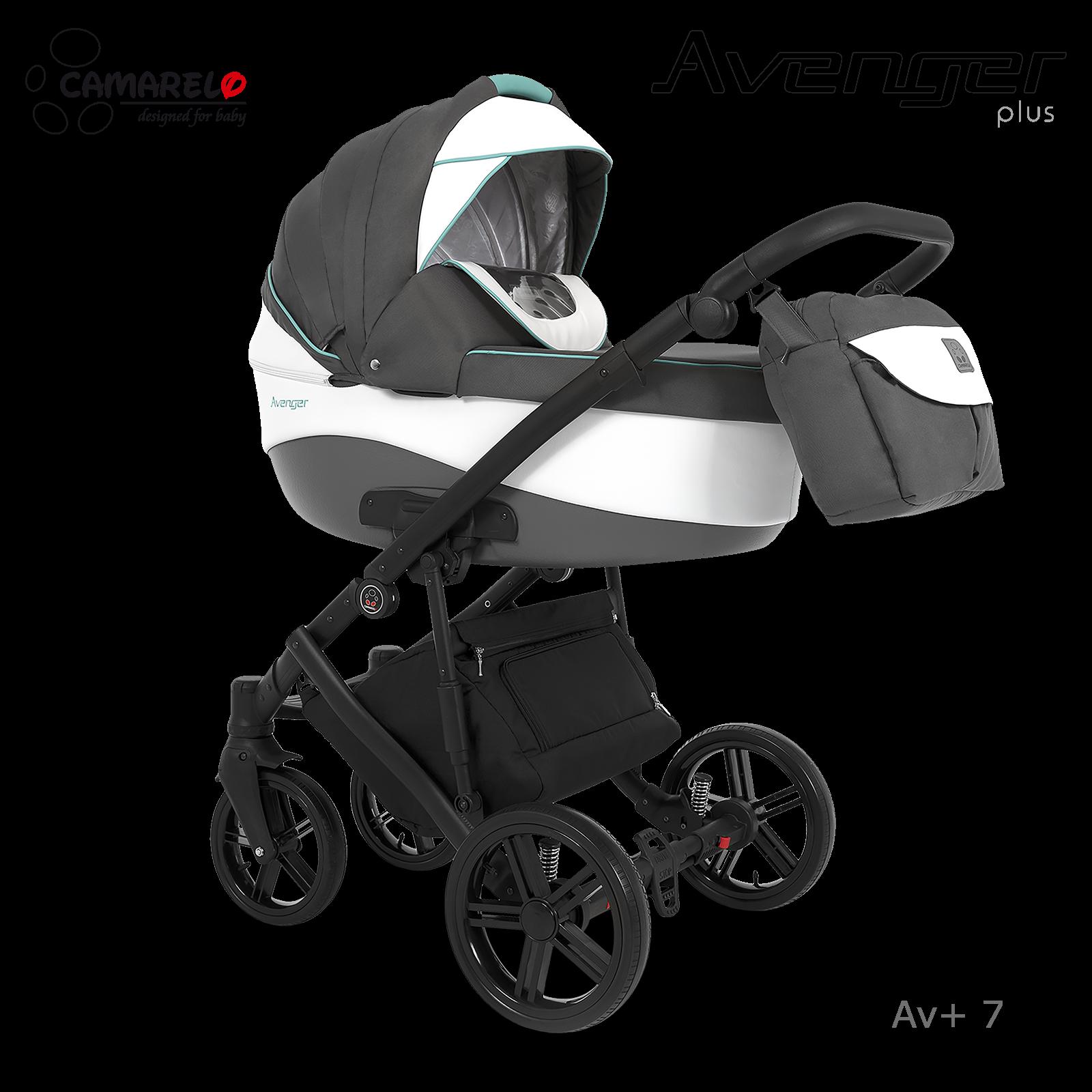 Carucior copii 3 in 1 Avenger Plus AV+7 Camarelo