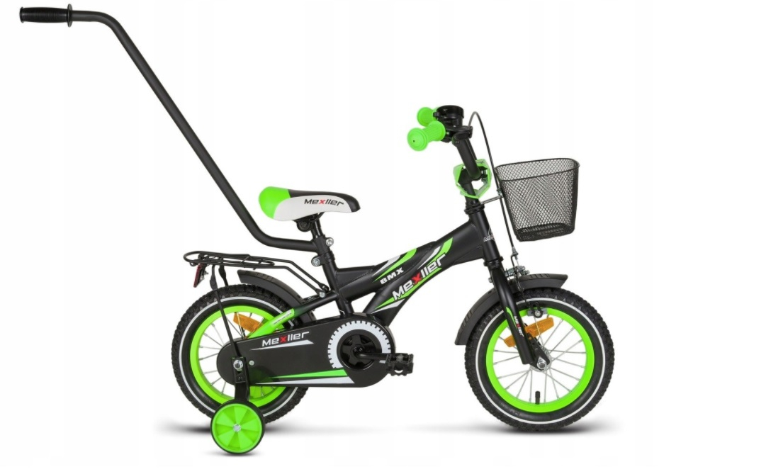 Bicicleta copii BMX 12 inch, Mexller, verde
