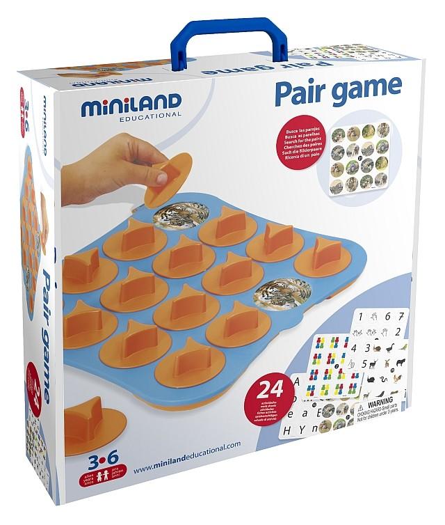 Joc De Memorie Miniland 24 Activitati