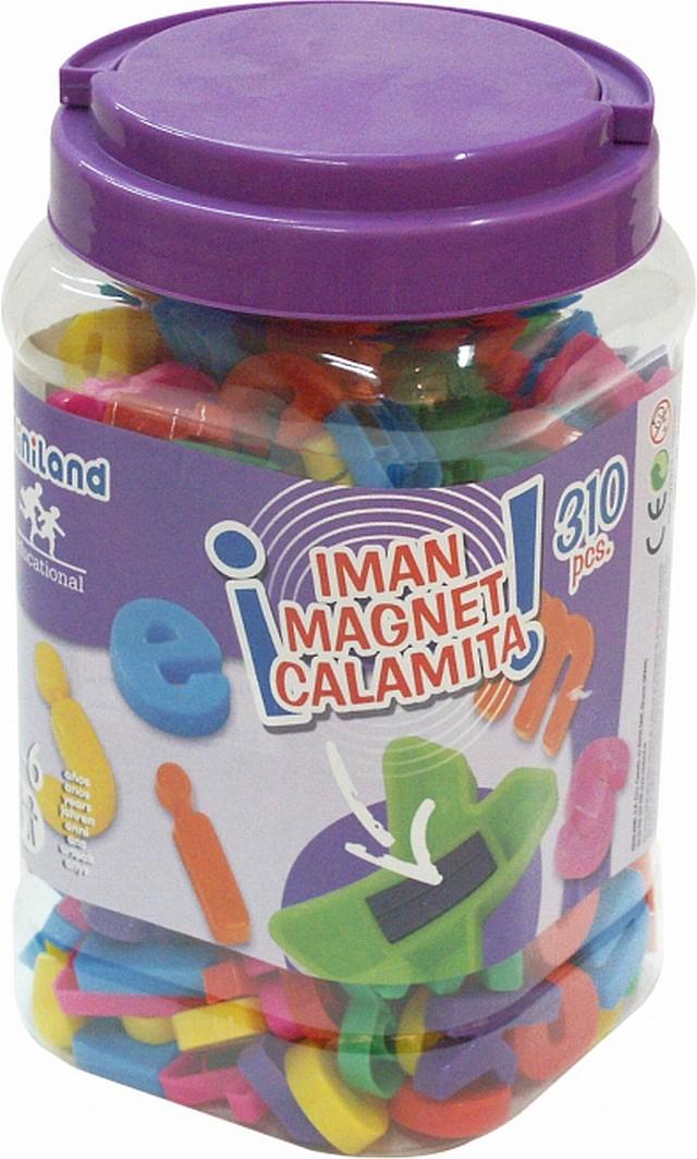 Litere Mari Magnetice Miniland 310 Buc