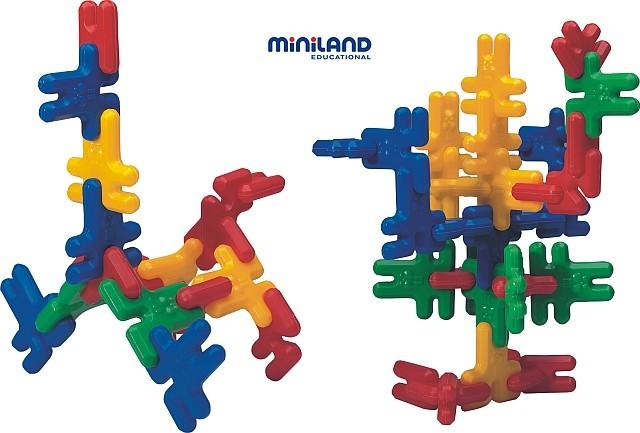Iepurasi De Construit Kim Buni Miniland 74 Buc