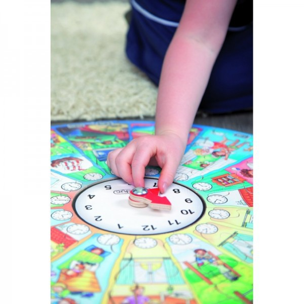 Puzzle Circular Invata Ceasul Beleduc