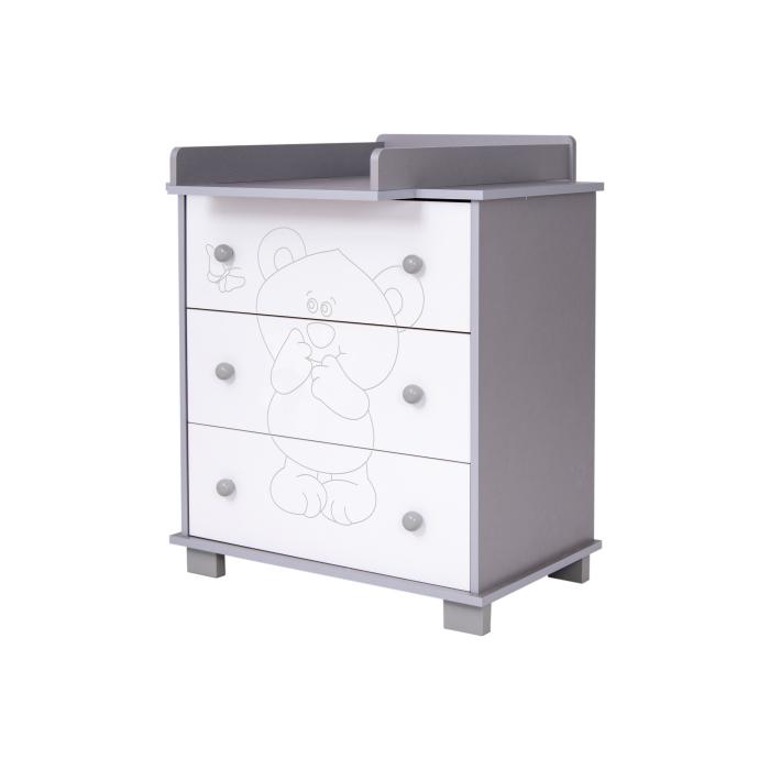 Comoda eurogloria bear - silver imagine
