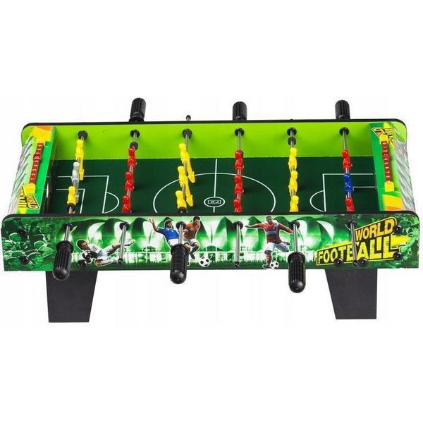 Masa de fotbal din lemn 61 x 30 5 cm x 18 5 cm ecotoys - verde imagine