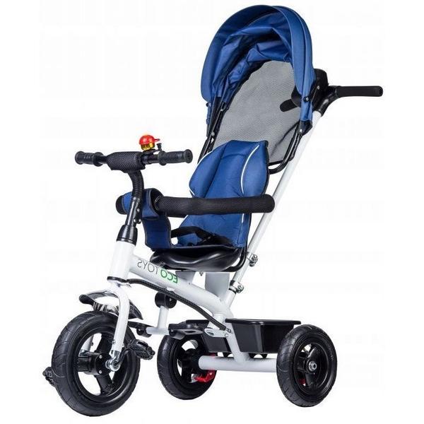 Tricicleta ecotoys jm-068-11h - albastra imagine